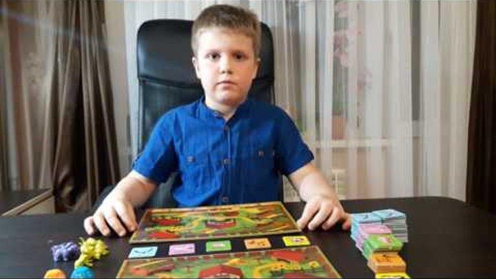 Открываем настольную игру Ферма Люкс от Danko toys Видео обзор игр для всей семьи с игровым полем
