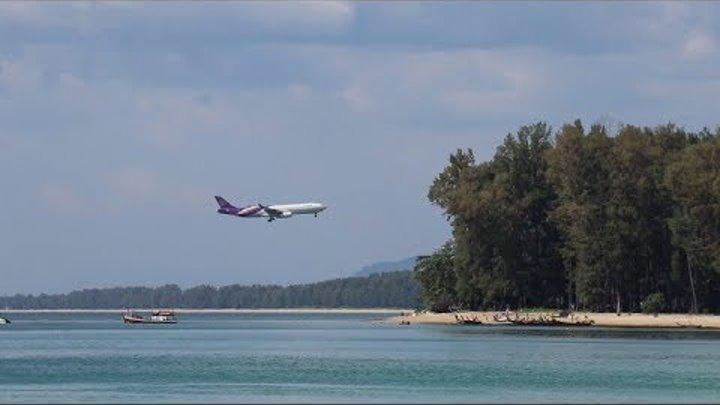 Wonderful Thailand: Самый опасный пляж с самолетами на Пхукете