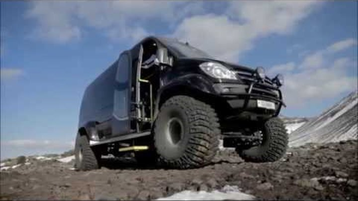 ► Тест драйв Sprinter 4x4 Iceland Artic trucks. Новинки авто 2015-2016