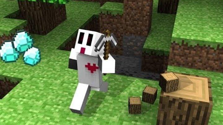 Майнкрафт с Девушкой УЖАС!!! Приключения и выживание Minecraft