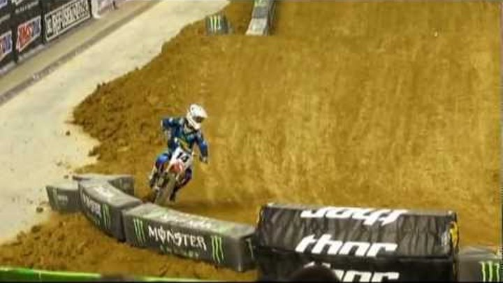 Kevin Windham Transfer at Dallas Supercross 2012