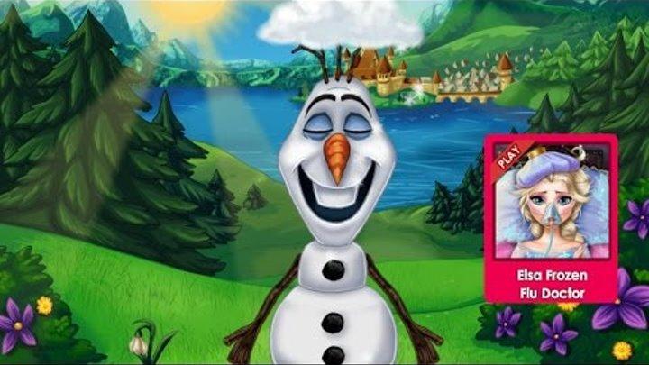 Эльза Frozen Игры—Дисней Принцесса Эльза и Олаф—Онлайн Видео Игры Для Детей Мультфильм 2015