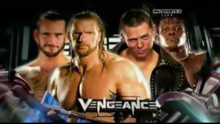 WWE Vengeance 2011 Full Match Card [HD]