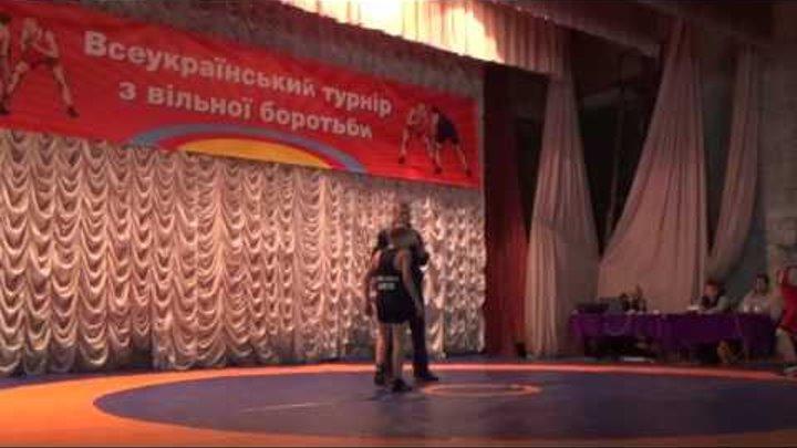 Саня Точ схватка за 3-е место красное трико