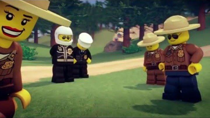 Мультфильм про МАШИНКИ. Мультики для детей. LEGO City - Полиция | Серия 3