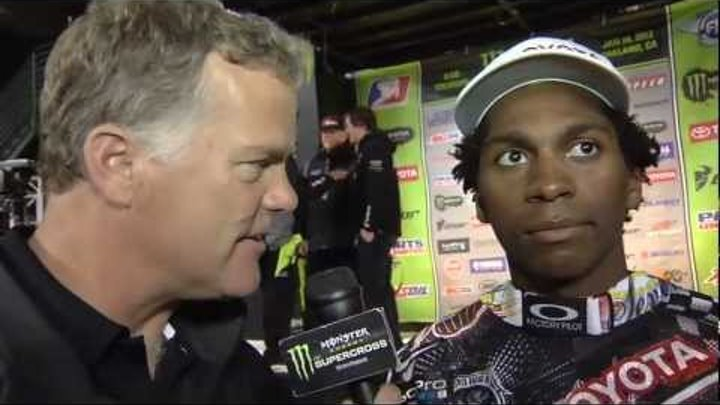 Supercross LIVE! 2012 - And On The Podium Tonight in Oakland - James Stewart
