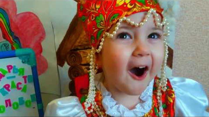 Колобок. Русская народная сказка.Kolobok. Russian folk tale.