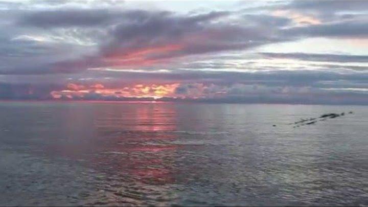 Светлогорский пляж на закате..