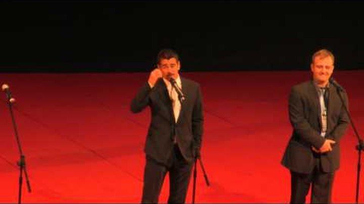 Colin Farrell Total Recall Moscow Premiere Колин Фаррелл в Москве