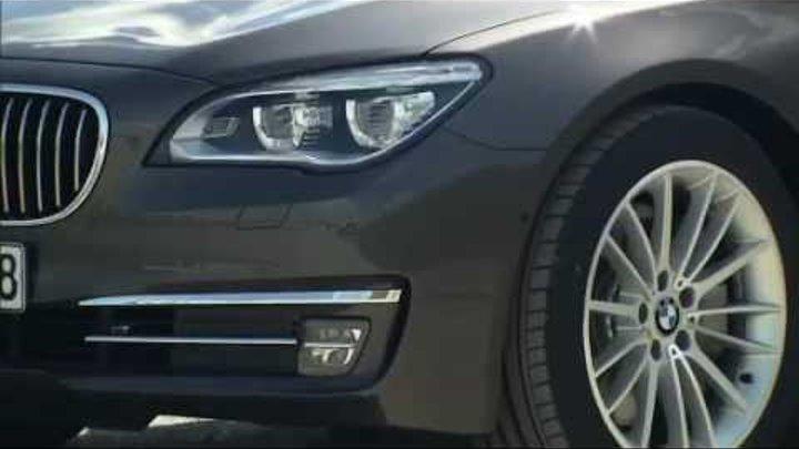 Обновленный седан BMW 7 серии