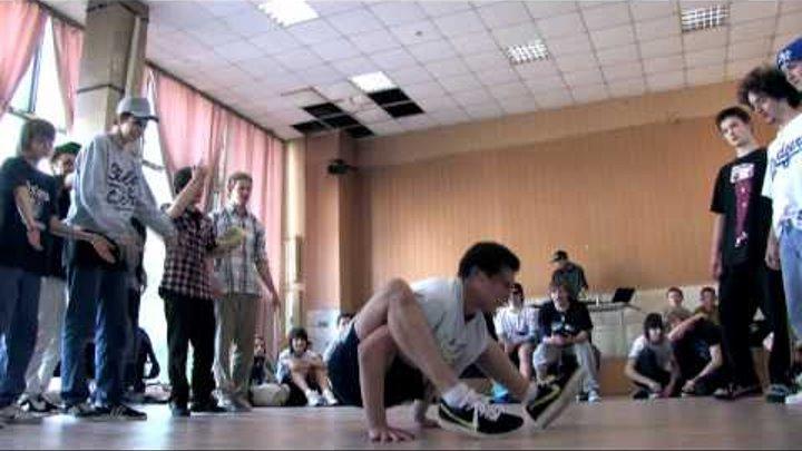 """Break dance, """"Лови волну""""- май 2011"""