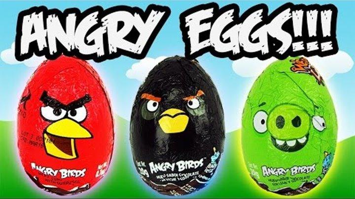 Энгри Бердз Киндер Сюрприз RED Kinder Surprise распаковка.Angry birds Kinder Surprise