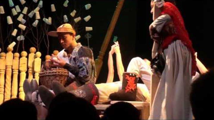 "Коляда-театр. ""Вишневый сад"", 1-й акт."