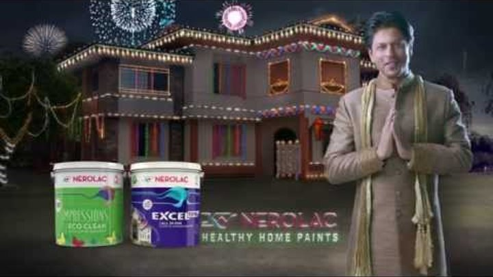 Nerolac Paints - New TVC for Diwali 2015 with Shahrukh Khan