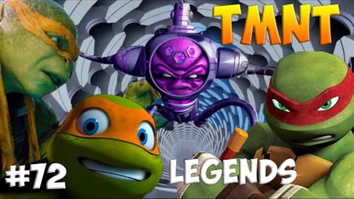 Черепашки-Ниндзя: Легенды. Прохождение #72 Mikey Raphf vs FINAL BOSS (TMNT Legends IOS Gameplay 2016