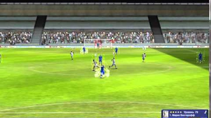 Моё первое видео игра фабрика футбола
