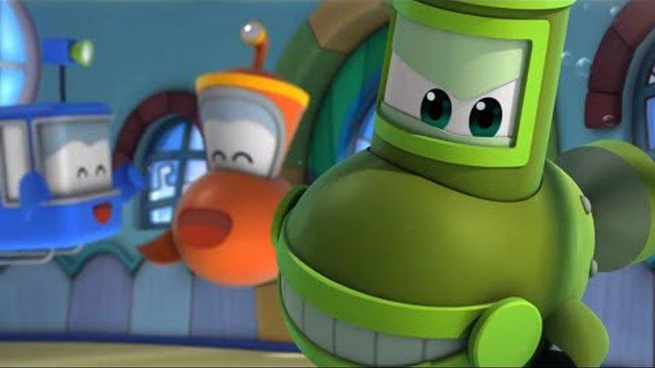 Мультфильм Марин и его друзья - Подводные истории - Марин - новый ученик (гонка подлодок)
