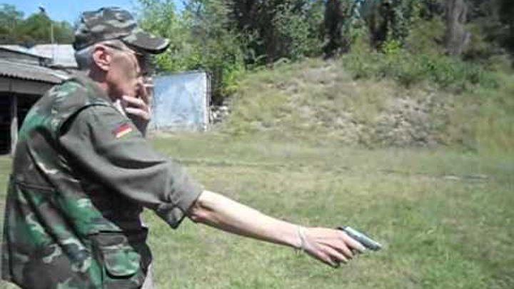 Стрельба из лчного оружия, пистолета Беретта 21 и ТТ.wmv