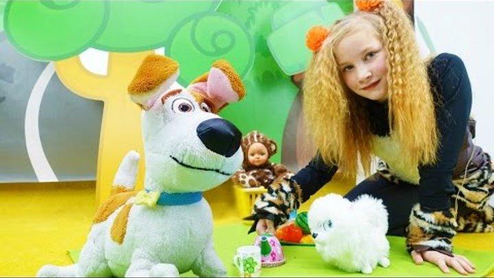 НОВЫЕ приключения: МАКС и ГИДЖЕТ (мультфильм Тайная жизнь...) нашли медвежонка! Детское видео