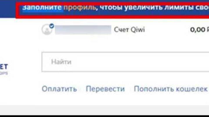 Серия и номер паспорта для QIWI