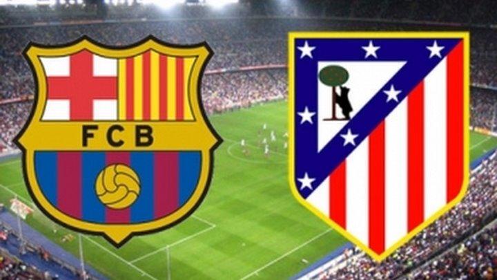 Барса Атлетико Мадрид 1 1, полуфинал Кубка Испании, 7 02 2017, гол Суареса и опасные моменты