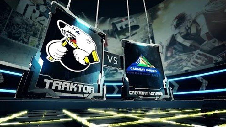 Трактор vs Салават Юлаев - 1:3. 29 Ноября 2015