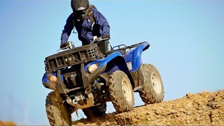 TEST RIDE: 2014 Yamaha Grizzly 700