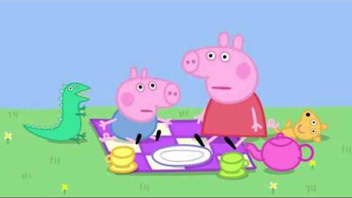 Свинка Пеппа - S01 E31-32 (Урок балета / Гроза) #DJESSMAY