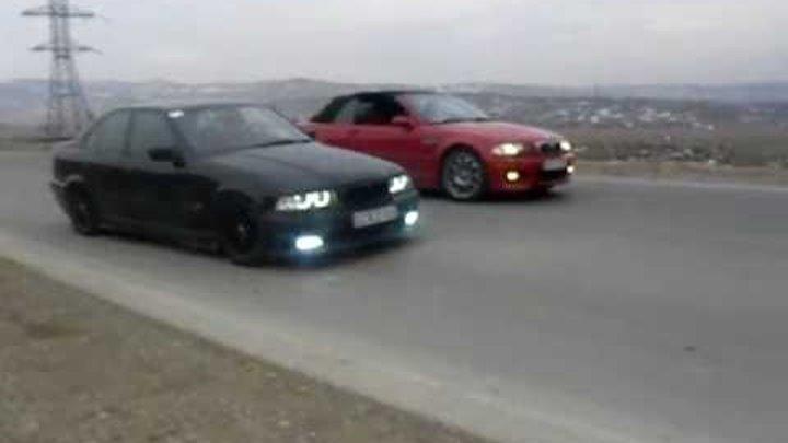 BMW E36 328 stroker vs BMW e46 M3