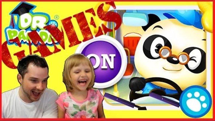 Ребенок Водитель Автобуса Папа в ужасе Dr. Panda Babybus 2016 Видео игра для детей прохождение игры