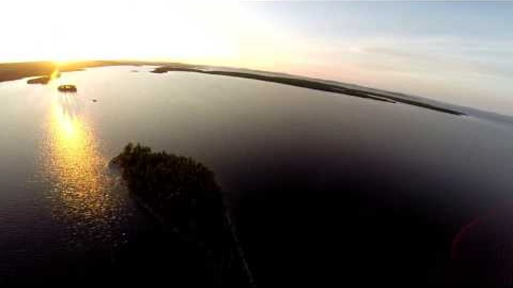 North Karelia fishing Pajozero lake/Рыбалка в Северной Карелии, Пяозеро