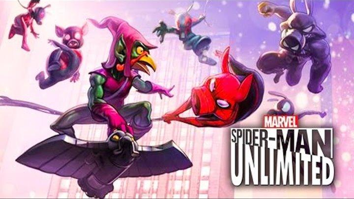 Hodgepodgedude играет Spider-man Unlimited #99 (2 сезон)