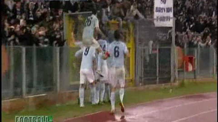 Серия А. 15 тур. Лацио - Интер 3-1 Эрнанес (Lazio vs Inter) 03.12.10