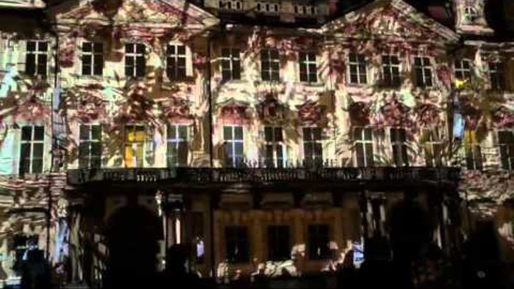 Signal festival 2015 | Old Town Square | Videomapping