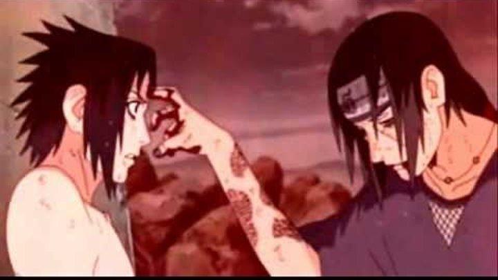Naruto opening 6 Sasuke vs Itachi(на русском)