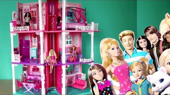 Барбі українською Серія 1 Барбі Життя в будинку мрії, іграшки мультики українською