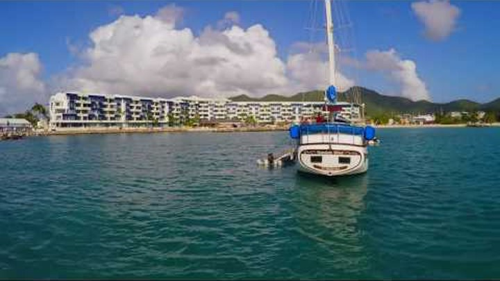 "WORLD'S FIRST SUBMARINE DRONE!! The ""MARINER"" Waterproof Drone, filmed in St Maarten, SXM, CARIBBEAN"