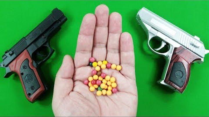 Bad Baby Nerf Gun Fight ! Nerf Gun War : Gun Baby Nerf War - 2 Toy Pistol for Kids and Children!
