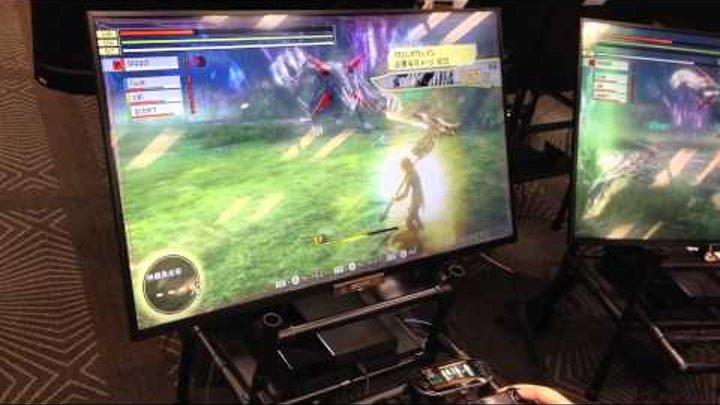PS4版『GOD EATER 2 RAGE BURST(ゴッドイーター2 レイジバースト)』試遊