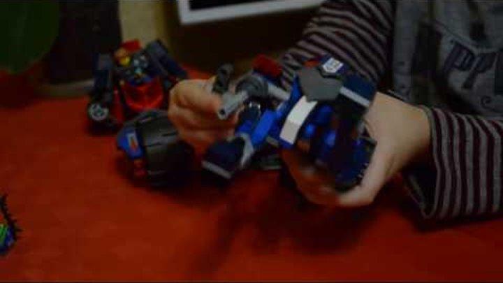 Обзор набора Lego Лего Nexo Knigts Нексо Найтс Механический конь Ланса 70312