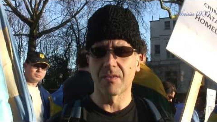 Мы хотим, чтоб Одесса была в Украине, Лондон Марш против войны, 16 03 2014