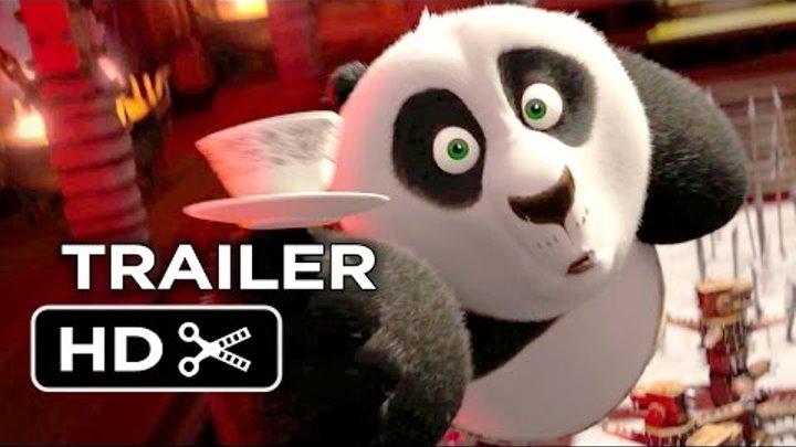Kung Fu Panda 3 Official Teaser Trailer #1 (2016) - Jack Black, Angelina Jolie Animated Movie HD