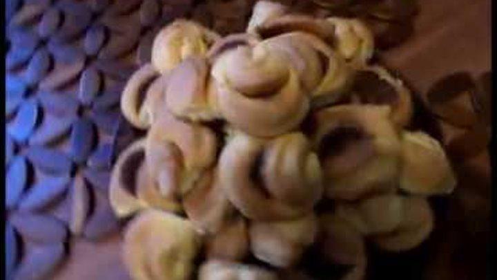 Творожное печенье Лепесток