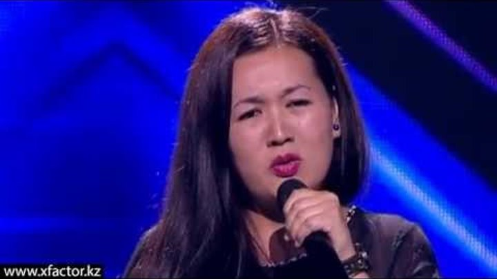 Толганай Пазылакын. X Factor Казахстан. Прослушивания. 5 серия. 6 сезон.