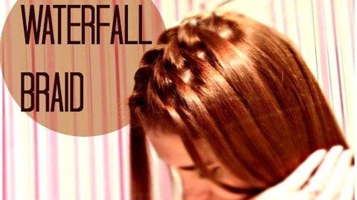 Waterfall Braid On Yourself Medium Long Hair Tutorial Coafura Simpla Cascada Tutoriale Crix