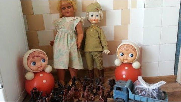 Популярные советские детские игрушки 70-90х годов!!!