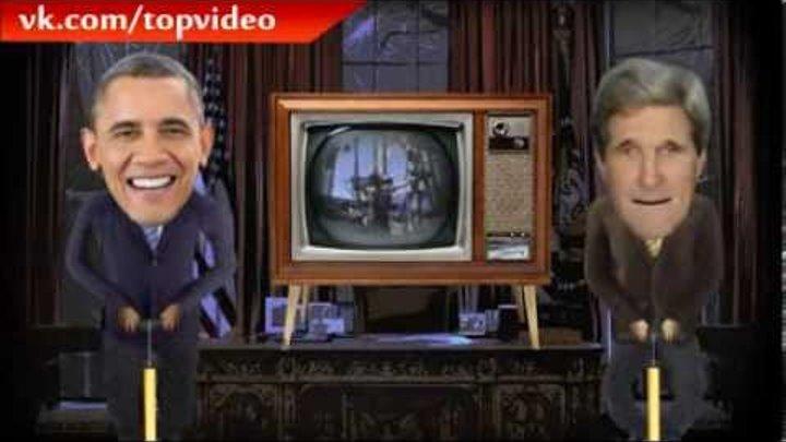 Обама и ген.сек. НАТО - пародия на ХБ шоу | TOP VIDEO |