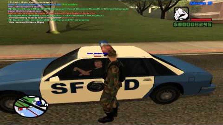 Advance-Rp Blue | GTA SAMP #11 - Второй день из жизни вояки