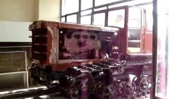 Трактор ДТ-54А Soviet tractor DT-54 restoration
