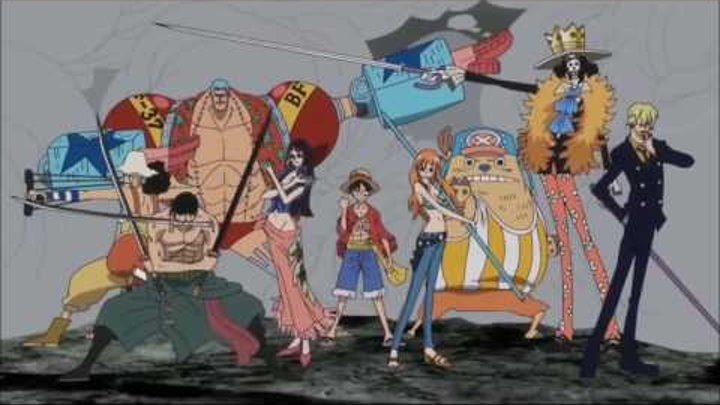 One Piece Opening 19 (Jackie-O Russian TV-Version)